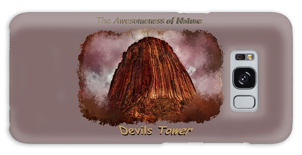 Transcendent Devils Tower 2 Galaxy Case