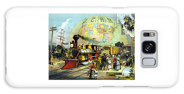 Train Galaxy Case - Transcontinental Railroad by War Is Hell Store