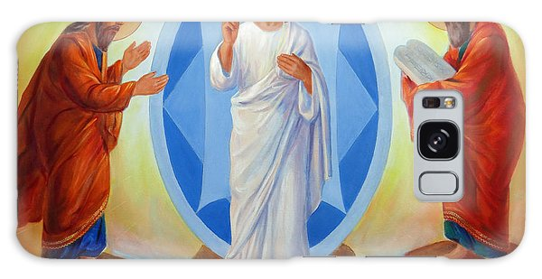 Transfiguration Of Jesus Galaxy Case by Svitozar Nenyuk