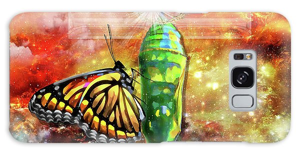 Transformed By The Truth Galaxy Case by Dolores Develde
