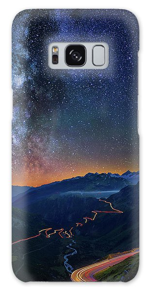 Transience And Eternity Galaxy Case