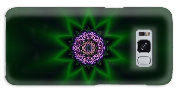 Galaxy Case featuring the digital art Transition Flower 10 by Robert Thalmeier