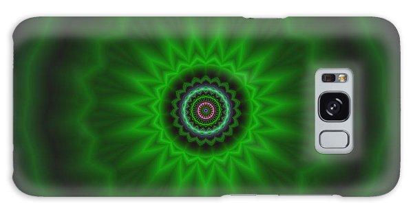 Galaxy Case featuring the digital art Transition Flower 2 by Robert Thalmeier