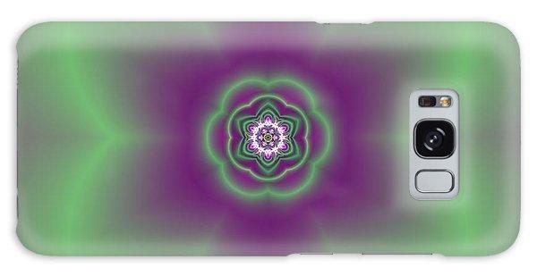 Transition Flower 6 Beats 2 Galaxy Case by Robert Thalmeier