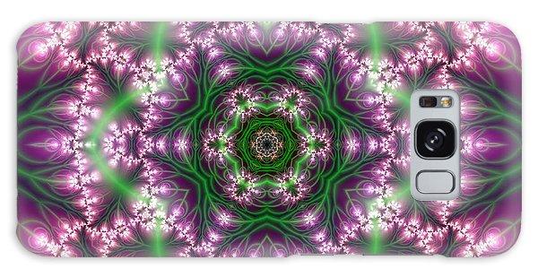 Transition Flower 6 Beats 4 Galaxy Case by Robert Thalmeier