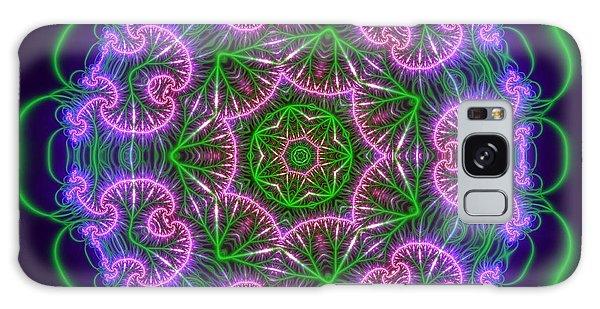 Transition Flower 7 Beats Galaxy Case by Robert Thalmeier