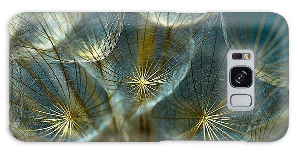 Translucid Dandelions Galaxy Case
