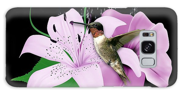 Galaxy Case featuring the mixed media Transport Hummingbird by Marvin Blaine