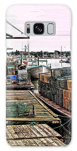 Traps Portland Maine Galaxy Case by Tom Prendergast