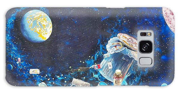 We Loved Earth At One Time - Yes We Did. Galaxy Case