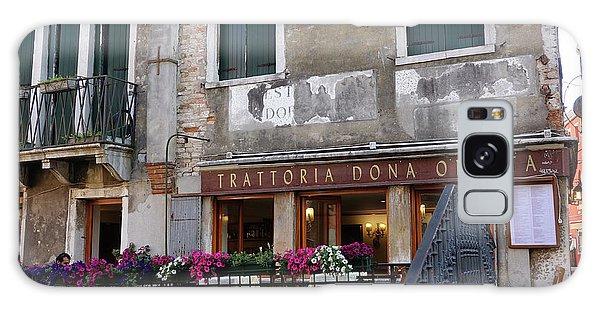 Trattoria Dona Onesta In Venice, Italy Galaxy Case
