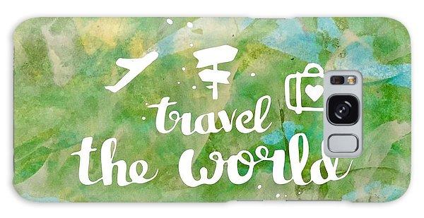 Travel The World  Galaxy Case