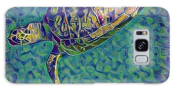 Travis The Turtle Galaxy Case by Erika Swartzkopf