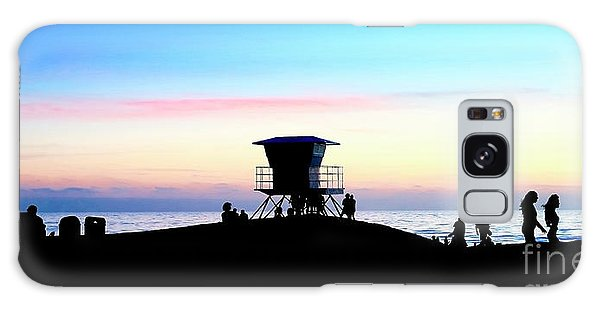 Treasure Coast Florida Sunrise Seascape Paradise 447 Galaxy Case