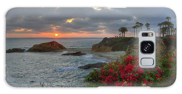 Treasure Island Beach Shoreline Galaxy Case by Eddie Yerkish