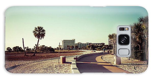 Galaxy Case featuring the photograph Treasure Island Beach Trail by Joel Witmeyer