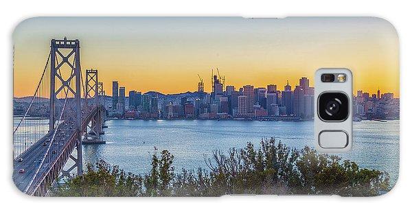 Treasure Island Sunset Galaxy Case by JR Photography