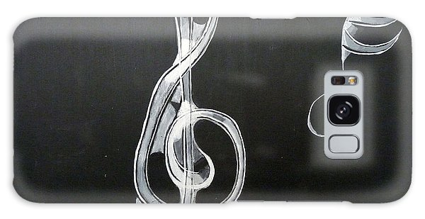 Treble Clef Galaxy Case