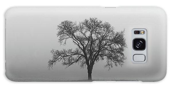 Tree Alone In The Fog Galaxy Case