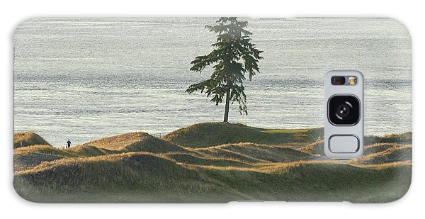 Tree At Chambers Bay Galaxy Case