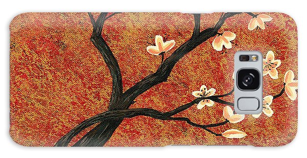 Tree Blossoms Galaxy Case