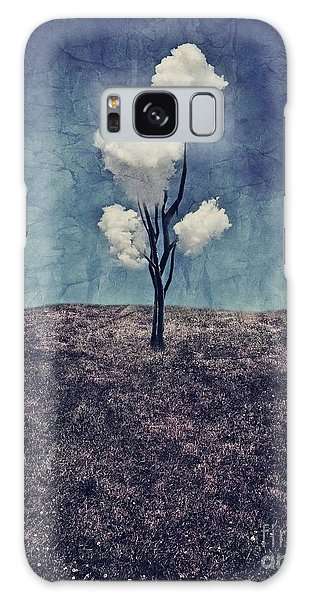 Tree Clouds 01d2 Galaxy Case