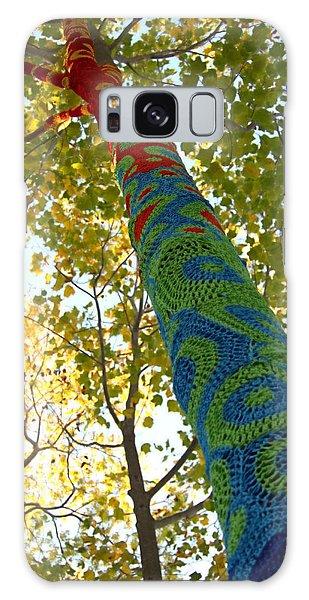 Tree Crochet Galaxy Case