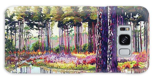 Tree Farm II Galaxy Case by David Randall