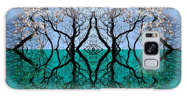 Tree Gate Between Water And Sky Worlds Galaxy Case