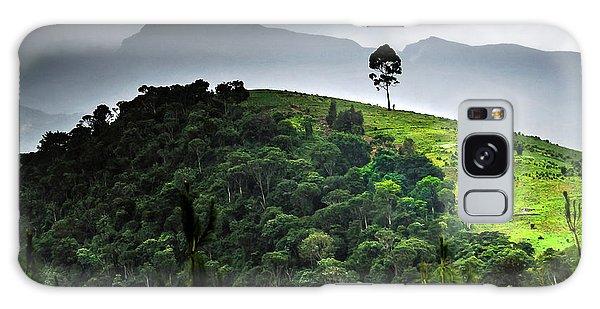 Tree In Kilimanjaro Galaxy Case