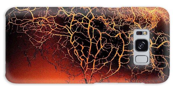 Tree In Light Galaxy Case