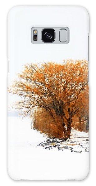 Tree In The Winter Galaxy Case