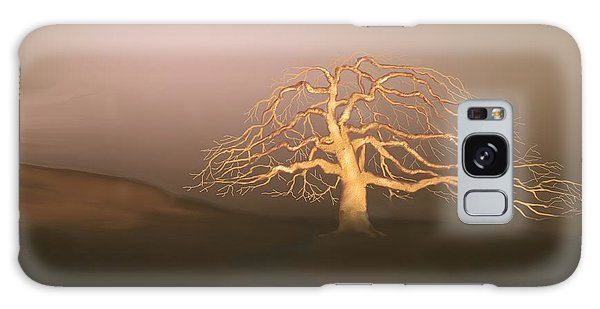 Tree In Winter I Galaxy Case