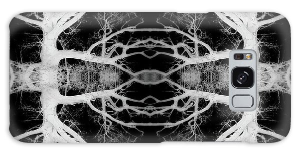 Tree Kaleidescope  Galaxy Case