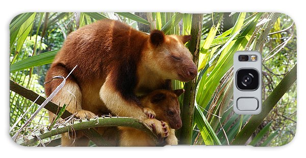 Tree Kangaroo 1 Galaxy Case by Gary Crockett