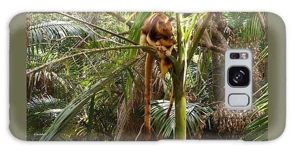 Tree Kangaroo 2 Galaxy Case by Gary Crockett