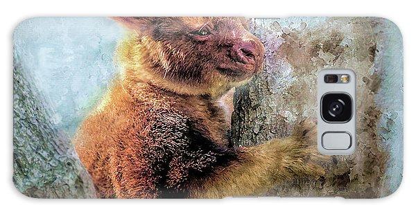 Galaxy Case featuring the photograph Tree Kangaroo by Wallaroo Images