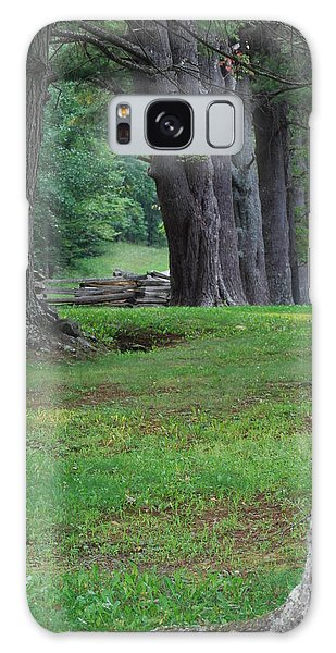 Tree Line Galaxy Case by Eric Liller