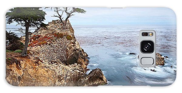 Monterey Galaxy Case - Tree Of Dreams - Lone Cypress Tree At Pebble Beach In Monterey California by Jamie Pham