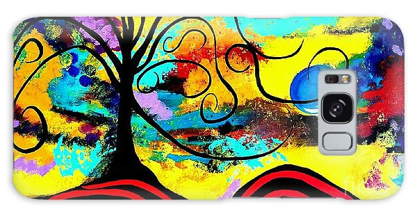 Tree Of Life Abstract Painting  Galaxy Case