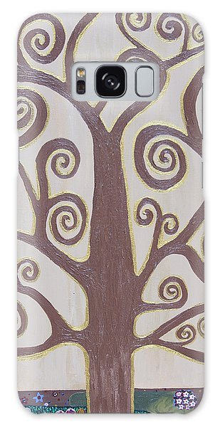 Tree Of Life Galaxy Case by Angelina Vick
