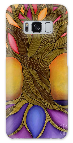 Galaxy Case featuring the painting Tree Of Life by Carla Bank