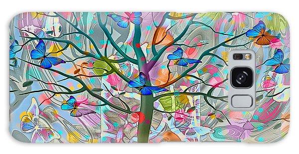 Galaxy Case featuring the digital art Tree Of Life by Eleni Mac Synodinos