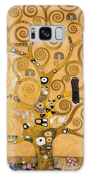 Perches Galaxy Case - Tree Of Life by Gustav Klimt