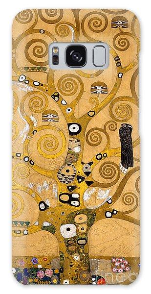 Fall Galaxy Case - Tree Of Life by Gustav Klimt