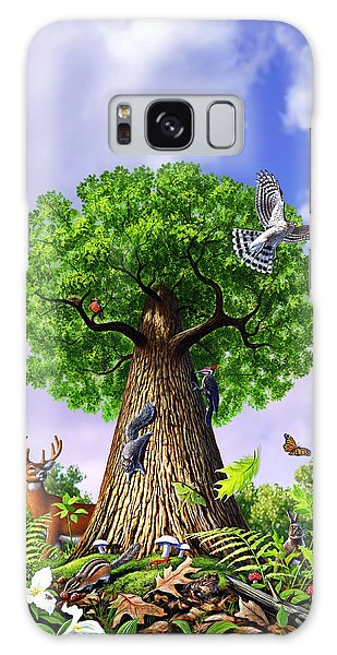 Newts Galaxy Case - Tree Of Life by Jerry LoFaro
