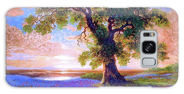 Blossoms Galaxy Case - Tree Of Tranquillity by Jane Small