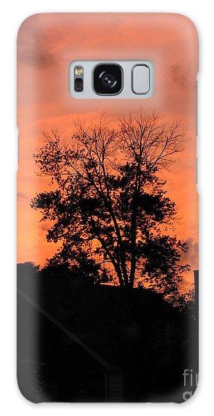 Tree On Fire Galaxy Case