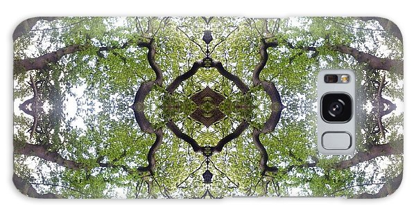 Tree Photo Fractal Galaxy Case