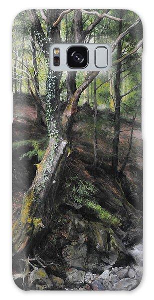 Tree River Wood Galaxy Case